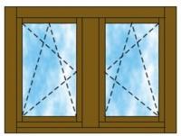 Tokosztott ablak