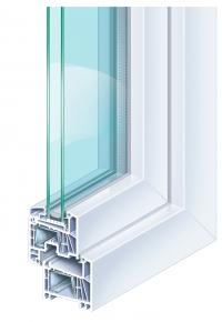 Kömmerling FUTUR70 műanyag ablak